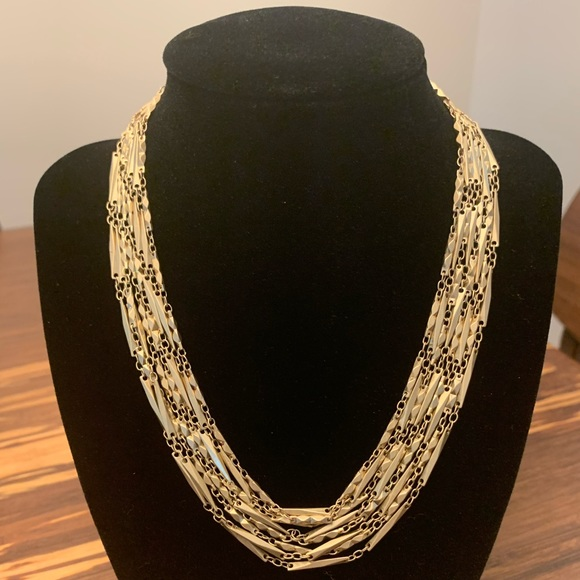 Jewelry - Multi-strand gold color necklace - hypoallergenic